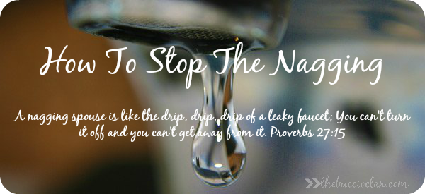 How To Stop The Nagging