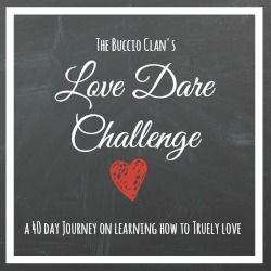 The Love Dare – Week 4