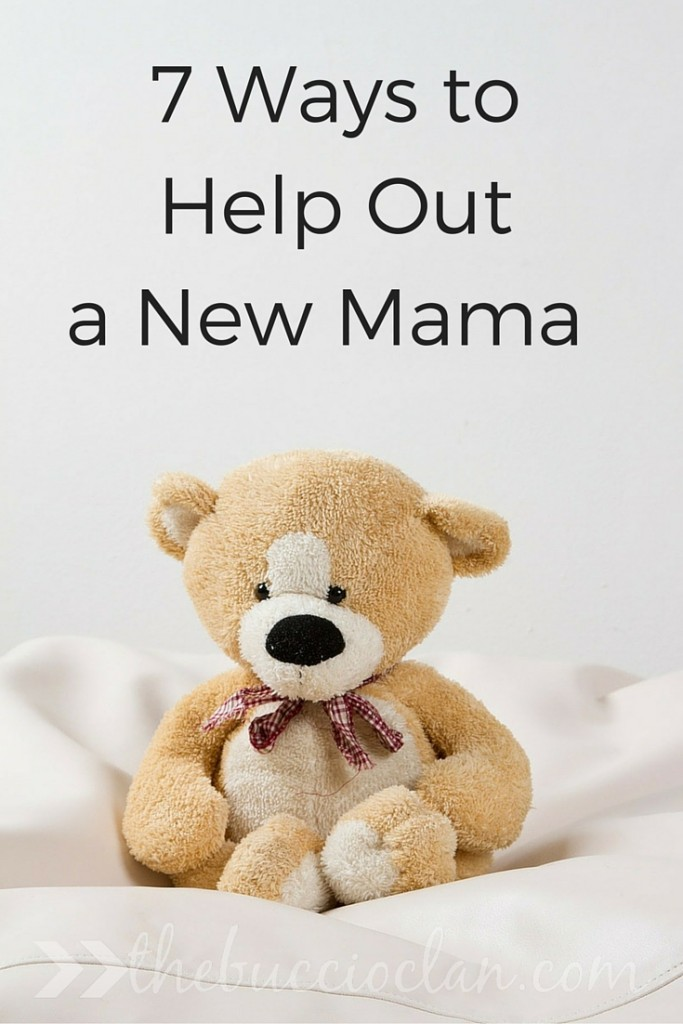 7 Ways to Bless a New Mama