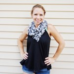 A Stylish, Practical Accessory for Mama – Nursing Infinity Scarf