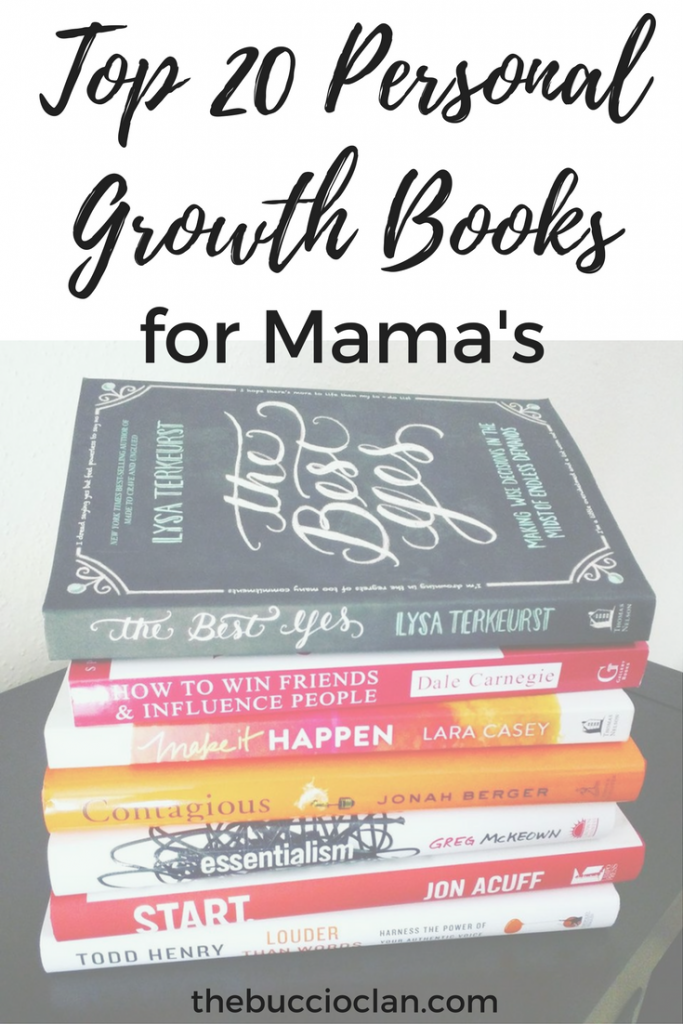 top 20 personal growth books for mama's